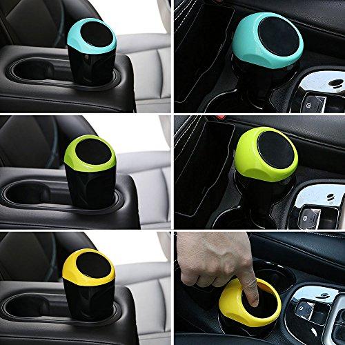 Poubelle de voiture, Ybb de voiture Mini poubelle plastique Garbage pouvez Automotive de stockage de déchets outlet