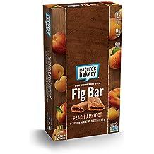 Nature's Bakery Whole Wheat Fig Bar, Vegan + Non-GMO, Peach Apricot (12 Count)