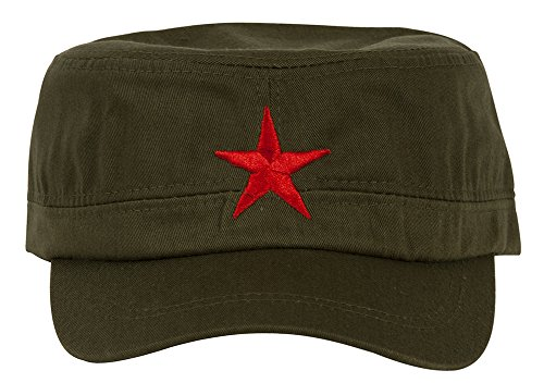 Gravity New Army Cadet Adjustable Hat w/Red Star