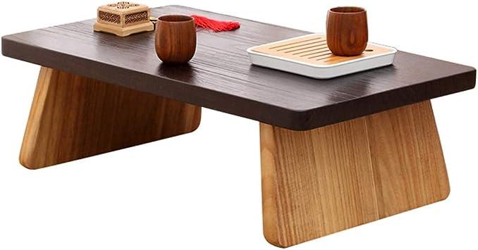 Amazon Com Coffee Table Solid Wood Bay Window Table Tatami Bay
