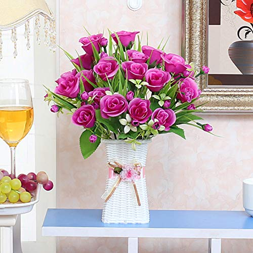 Xin Pang Simulación De Flor Artificial Salón Floral Table Tabla ...