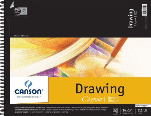 Canson C à Grain Drawing Paper Pads 14 in. x 17 in.