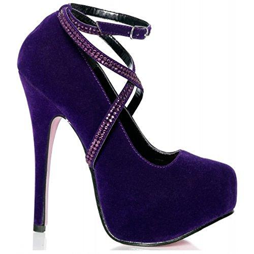 Sacha Chaussures Avenue Chaussures Sacha Violet Leg gFwPqfqx