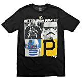 Pittsburgh Pirates MLB Big Boys Youth Star Wars Main Character T-Shirt, Black