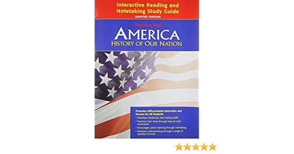 amazon com america history of our nation interactive reading and rh amazon com Prentice Hall Textbooks United States History Prentice Hall