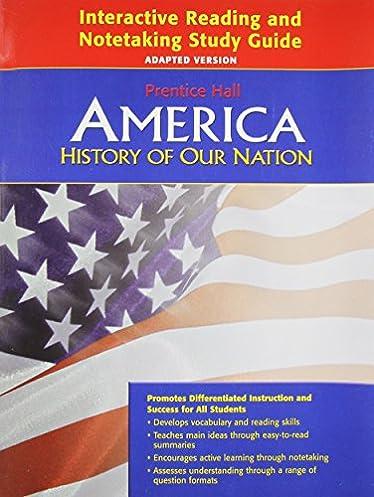 amazon com america history of our nation interactive reading and rh amazon com Prentice Hall Textbooks Prentice Hall Textbooks