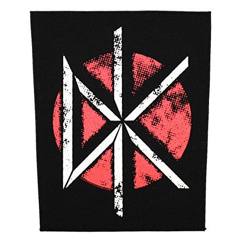 XLG Dead Kennedys DK Logo Back Patch Punk Rock Band Jacket Sew On (Dead Kennedys Dk Band)