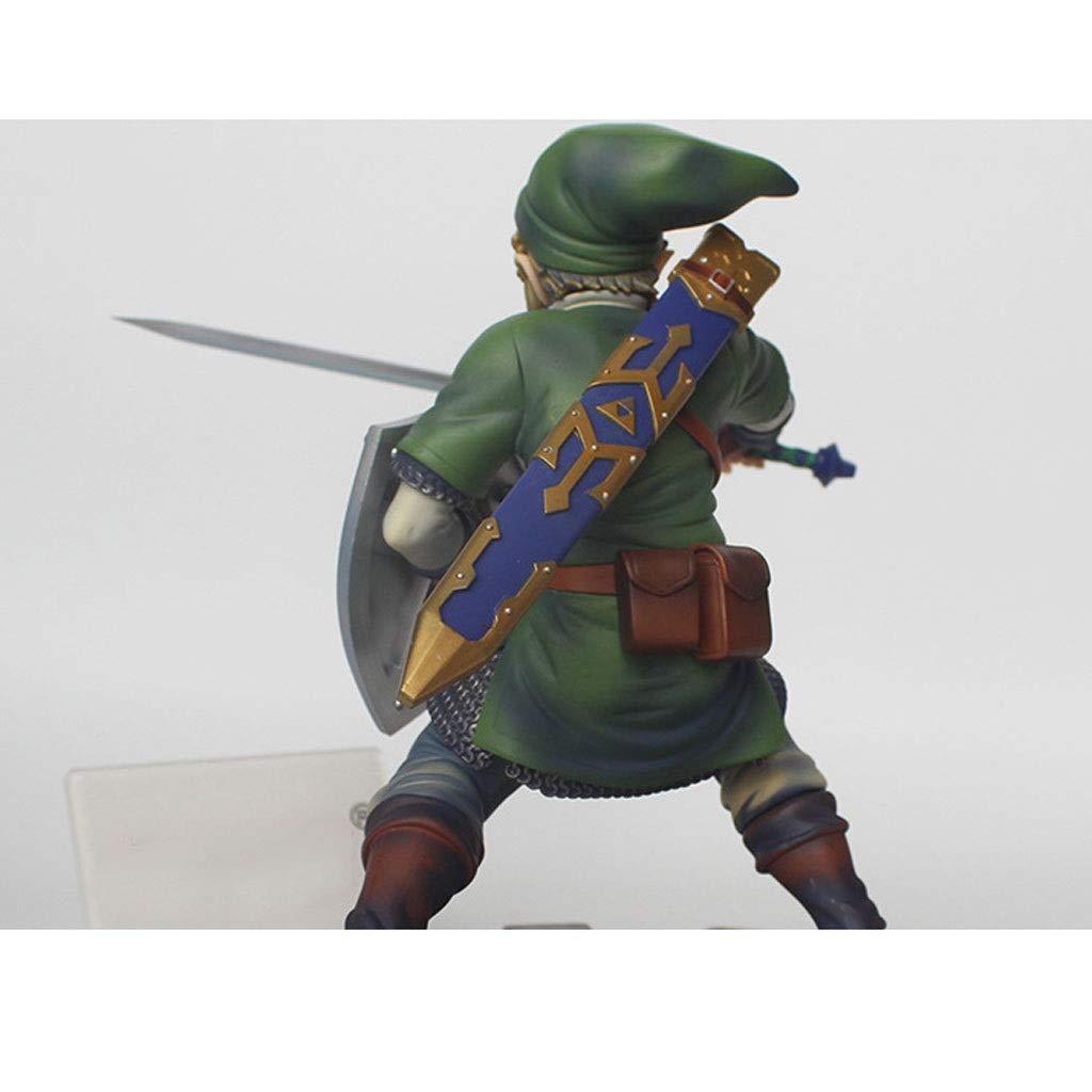 Mingteng The Legend of Zelda: Skyward Sword: Link PVC Figure ...