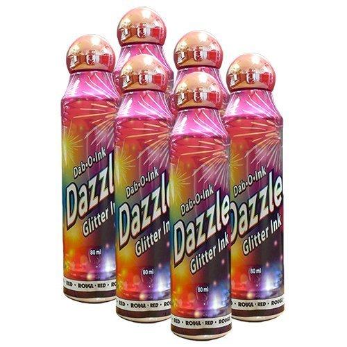 【超歓迎】 Six Pack 3oz B00H4GAS1E DazzleレッドBingo Dauber Six Pack B00H4GAS1E, ビックスマーケット:256c888e --- realcalcados.com.br