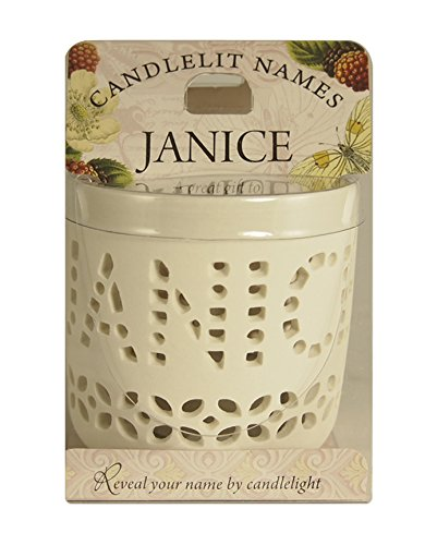 Candlelit Names 001850103  Janice  Votive Candles