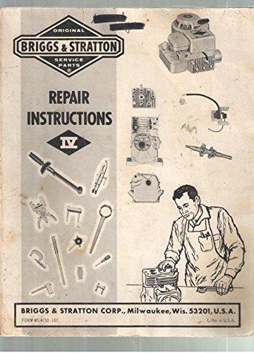 - Briggs & Stratton Repair Instructions IV