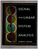 Signal and Linear System Analysis, Carlson, Gordon, 0395515386