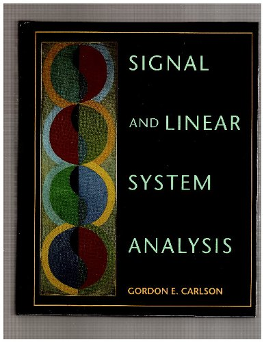 Signal and linear system analysis pdf