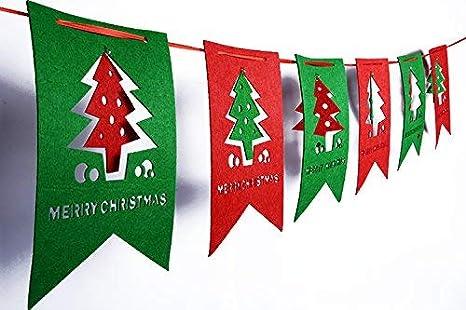 Amazon.com: Pancartas de Navidad, banderas, banderas ...