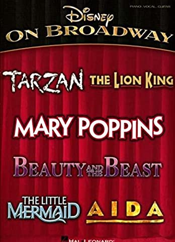 Disney on Broadway (Pvg) (Tv Tunes For Guitar)