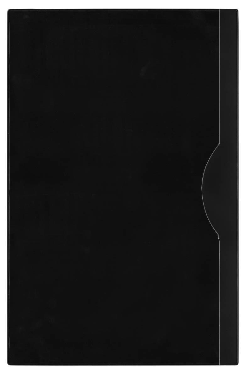StoreSMART Plastic File Jackets - Legal Size 8.5'' x 14'' - 100-Pack - Black - FJ2390-BK-100
