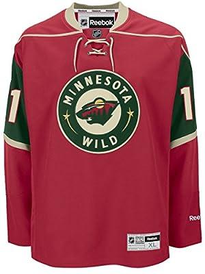 Zach Parise Jersey #11 Minnesota Wild Red Reebok Premier Jersey