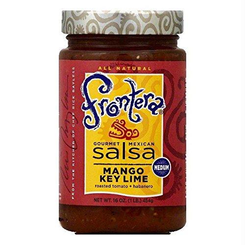 Frontera Foods Mango Key Lime Salsa, Medium, 16 oz