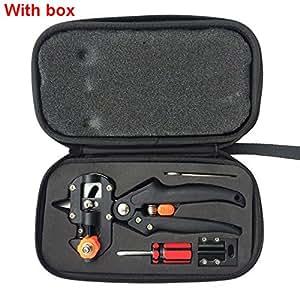 Herramientas de podar para manualidades, herramientas de jardín con 2 cuchillas, herramientas de manualidades, tijeras de secador de herramientas de corte duraderas, herramienta de manualidades