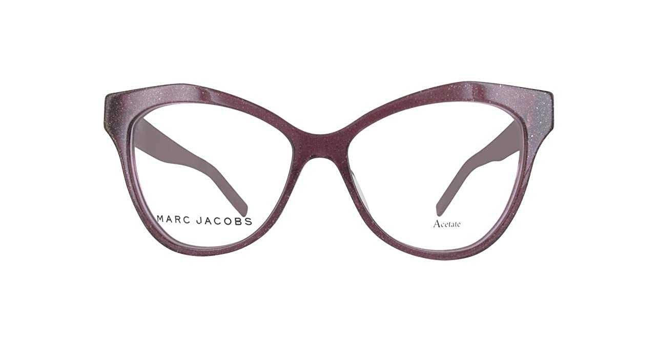 63d64871f821 Amazon.com: Marc Jacobs Marc 112 0OBC Glitter Violet Eyeglasses: Clothing