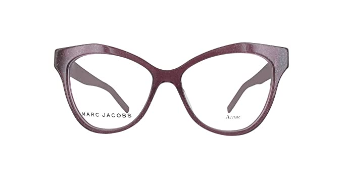 Amazon.com  Marc Jacobs Marc 112 0OBC Glitter Violet Eyeglasses ... 9be6c04bf27