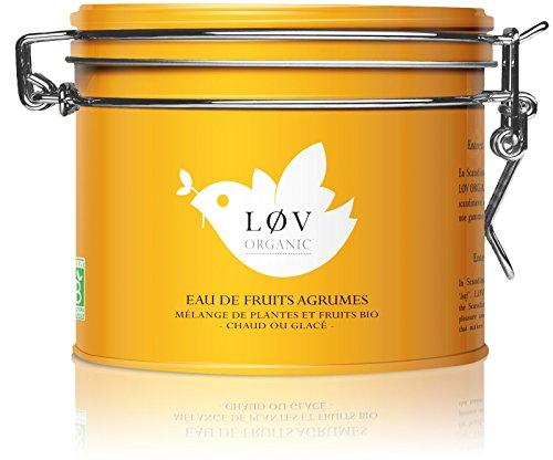 Citrus Fruit Tea 100g metal tin