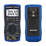 HOLDPEAK 770HC Digital Auto-ranging LCD Multimeter With Diode And Continuity Test – This Multi Tester is For Electronic Measurement With Backlight, Data Hold In School, Laboratory, Factory And Other Social Field