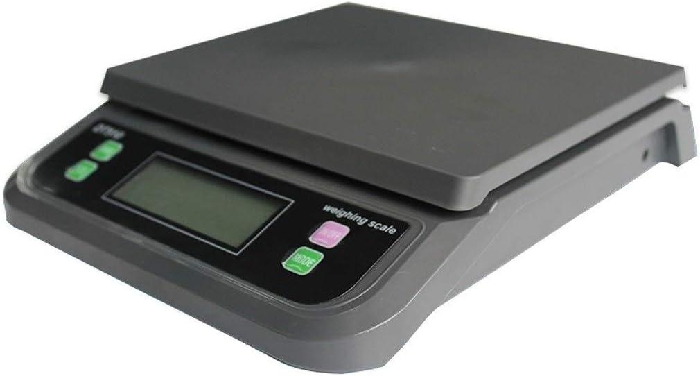 ZCXBHD Básculas electrónicas de Cocina de 30 kg / 1 g, báscula Digital for Alimentos Cocina casera Horneado Pesaje de Frutas Básculas multifuncionales (Color : Black, Size : 30kg-1g)