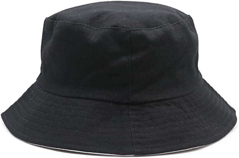 HWY Sombreros Unisex Sombrero de Cubo Reversible Sombrero de Pescador al Aire Libre para Accesorios de Verano