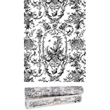 "Scentennials Vintage Toile Gray (6 Sheets) Scented Fragrant Shelf & Drawer Liners 16.5"" x 22"" - Great for Dresser, Kitchen, Bathroom, Vanity & Linen Closet"