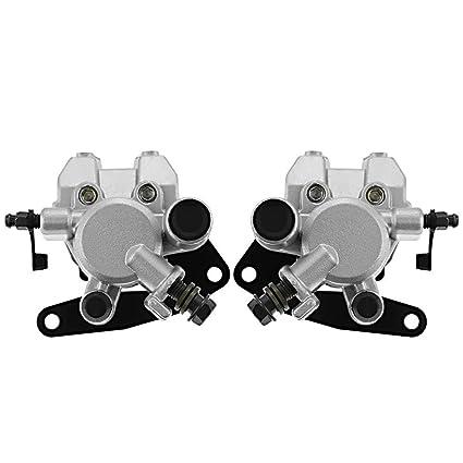 Amazon com: Aquiver Auto Parts New Front Brake Caliper Set