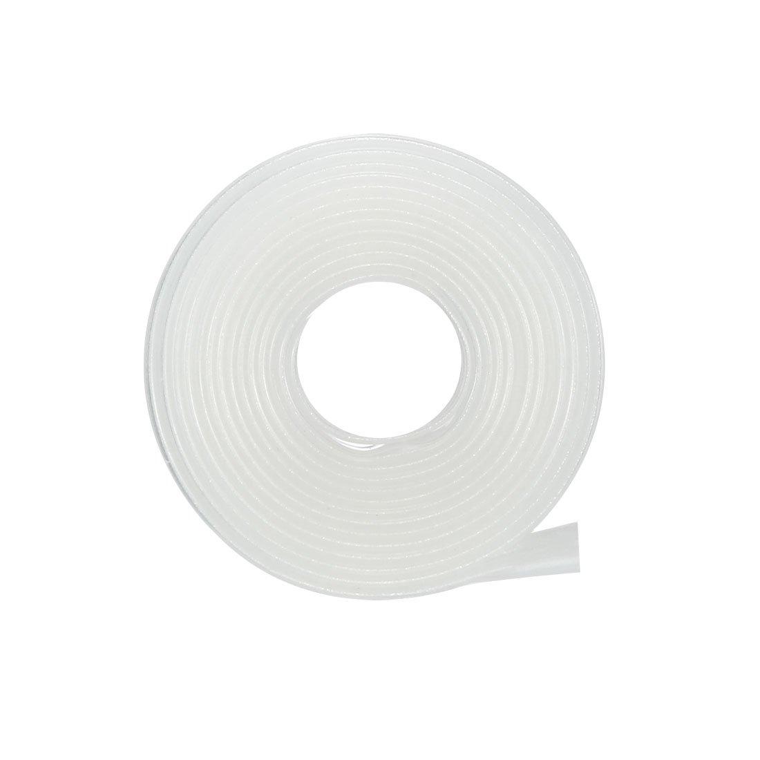 1/Elektrische Isolierung Tube Draht Kabel Tubing sleeven Wrap Klar 16/mm Durchmesser 1/m L/änge Sourcingmap Schrumpfschlauch 2