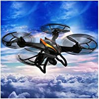 MD Group RC Quadcopter Orange 6-axis Gyro 5.8G FPV CX-35 4CH 2.4G with 2.0MP HD Camera