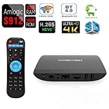 [2G/16G]Edal A1 4K Amlogic S912 Android 6.0 Smart TV BOX