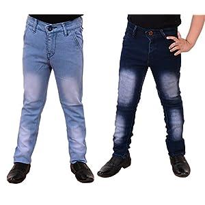 Guchu Boys Jeans Combo, Pack of 2(A5-IB-DB-B-P)