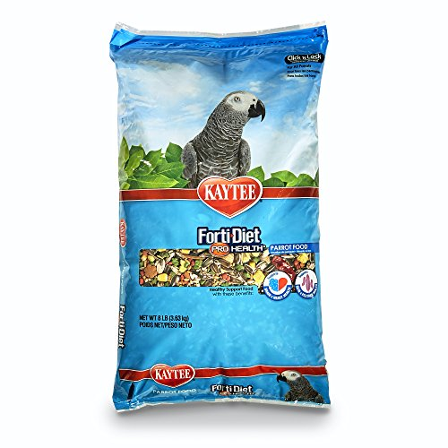 Kaytee Forti-Diet Pro Health Parrot Food, 8 Ib