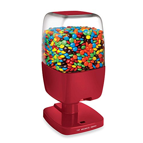 Sharper Image Motion Activated Candy Dispenser  Red