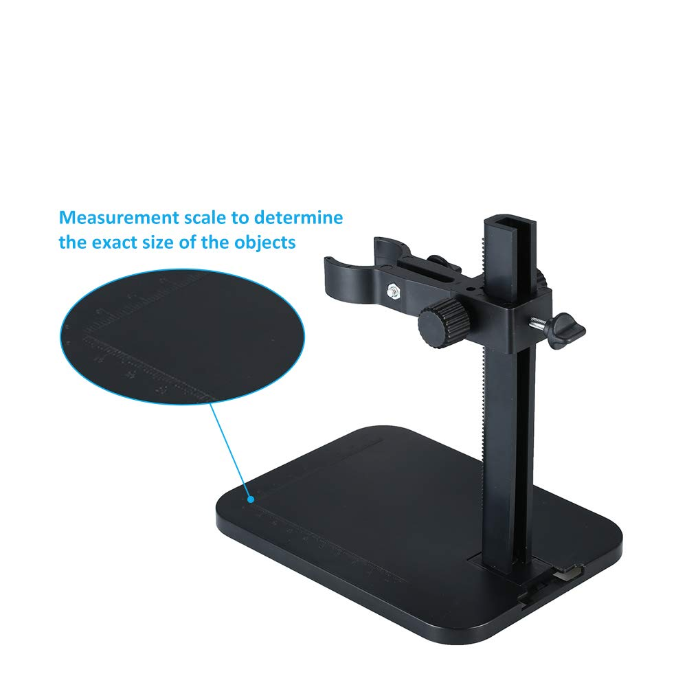 Einstellbare Halter Mini Foothold Tischgestell f/ür Mikroskop USB-Mikroskope Handheld USB Digital Mikroskop St/änder Halter Halterung