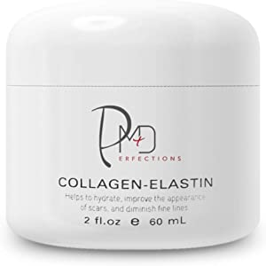 PerfectionsMD Collagen Elastin | Anti-Aging Face Cream | Skin Firming and Tightening Night Moisturizer | Reduces Wrinkles and Fine Lines for Men and Women