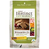 Instinct Freeze Dried Raw Market Nuggets Grain Free Chicken Recipe Natural Cat Food by Nature's Variety, 12 oz. Bag