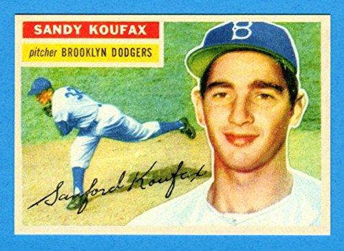 Sandy Koufax 1956 Topps Baseball Reprint Card - 1956 Baseball Topps