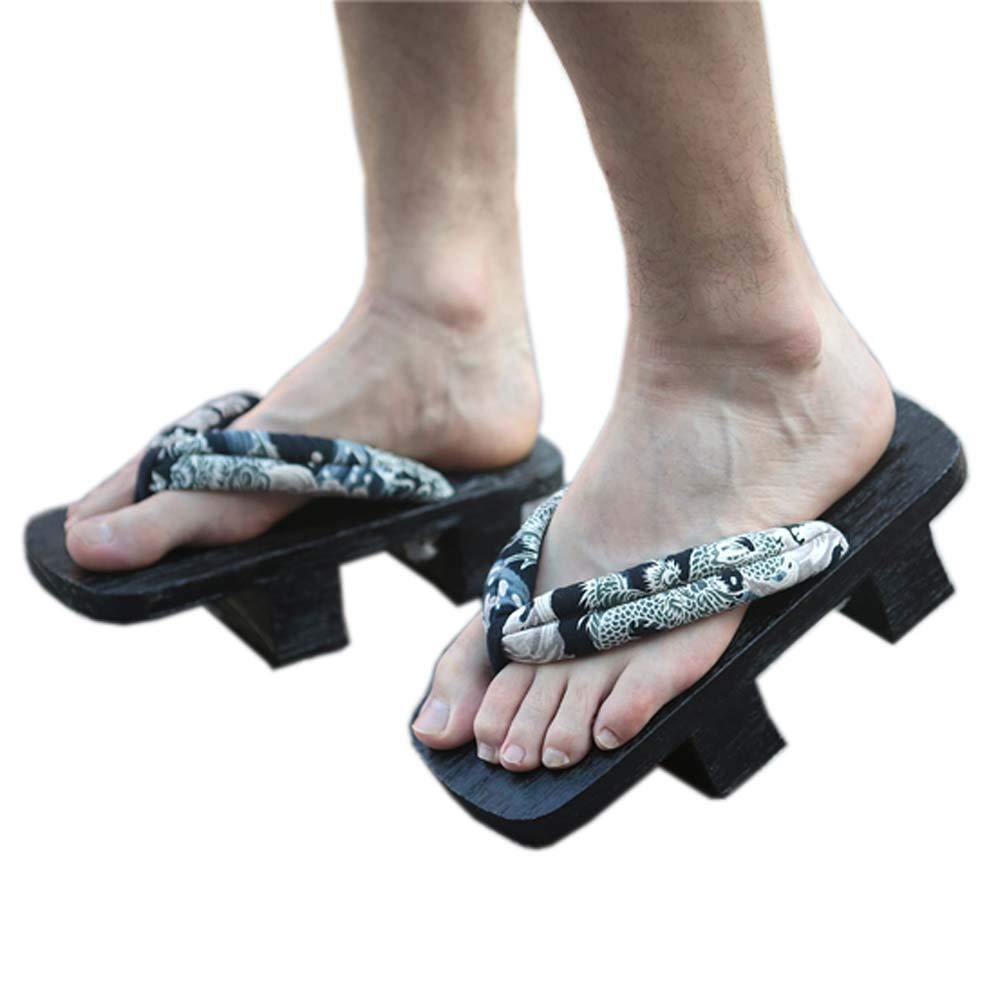 Zuecos de sandalias Geta de Ninja Flip Flop Geta estilo ...