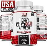 Horny Goat Weed for Men & Women | 1500mg Epimedium Pills, Maca Arginine & Ginseng | Naturally Boost Sexual Health, Libido, Stamina, Endurance, Testosterone & Energy | HGW Enhancing Premium Capsules