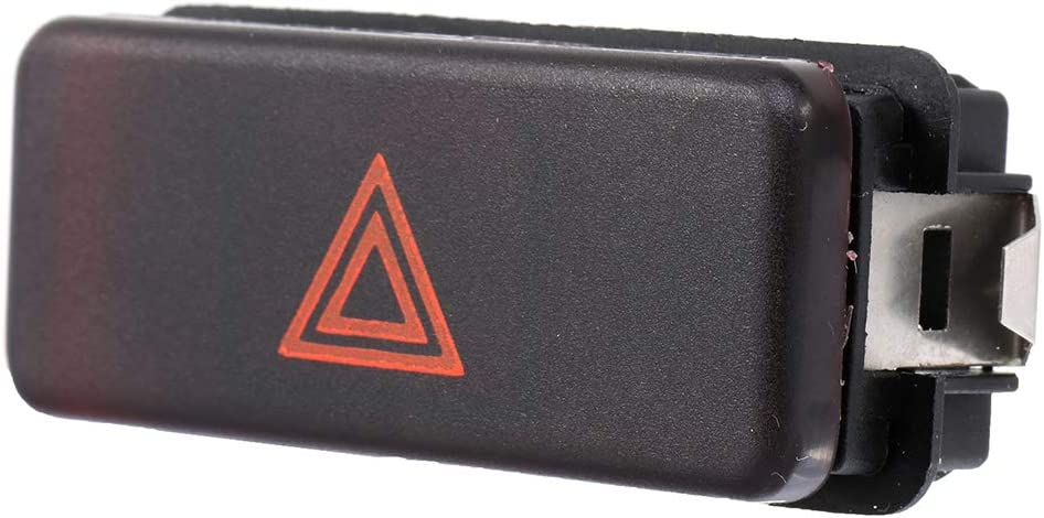 ECCPP Hazard Warning Light Emergency Flasher Switch fits for BMW 3 Series M3 Z3 OE 61311390722