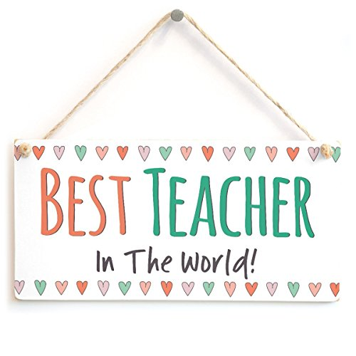 Meijiafei Best Teacher in The World! - Adorable Little Sign Teacher Present 10