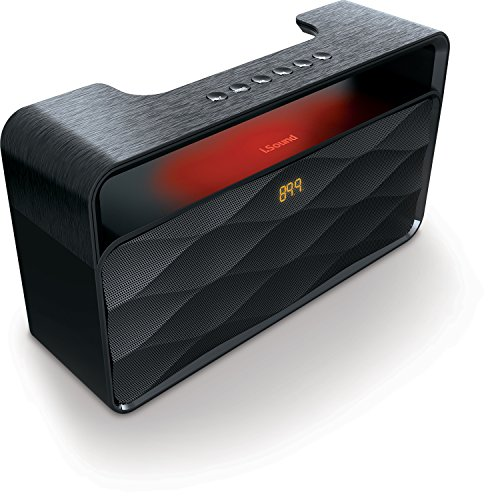 iSound HiFi Waves Pro Wireless Portable Bluetooth Speaker with Speakerphone