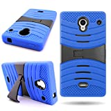 cover cases for sharp aquos - Sharp Aquos Crystal Case (Blue / Black) CoverON Heavy Duty Protective Hybrid Phone Cover for Sharp Aquos Crystal 306SH