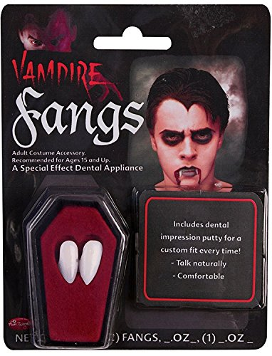 Potomac Banks Bundle: 3 Items - Vampire Fangs and Free Tube of Blood and Thermoplastic Adhesive]()