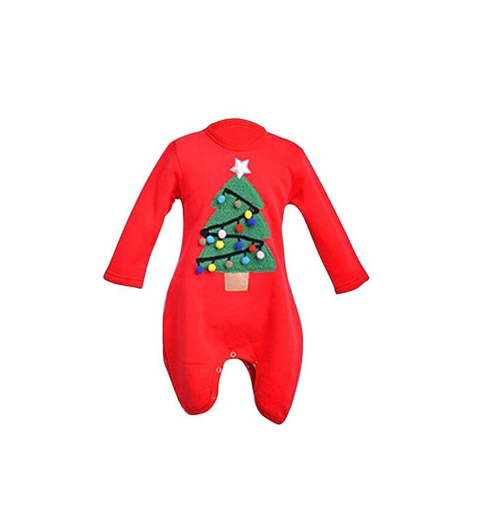 YYF Sweatshirt Rundkragen Pullover Weihnachtsbaum Weihnachten Familie Zusammenpassen Bluse Mama Papa Kinder Baby