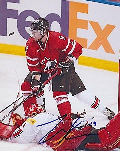 ZACK KASSIAN Signed TEAM CANADA/BUFFALO SABRES 8X10 PHOTO - Autographed NHL Photos (Signed Buffalo Sabres Nhl Photo)